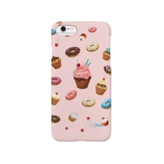 ロゴ入りカップケーキ Smartphone cases