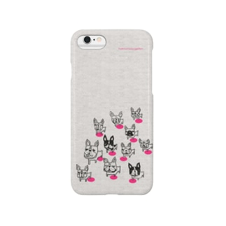 フレブル軍団(ピンク) Smartphone cases