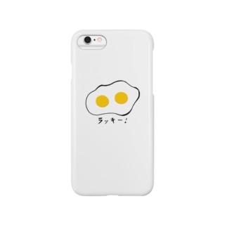 ふたご めだまやき Smartphone cases
