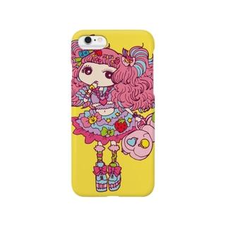 デコラちゃん Smartphone cases