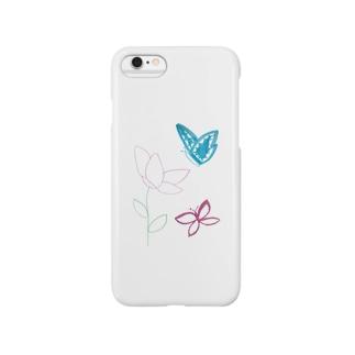 butterfly_01 スマートフォンケース