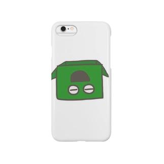 村長(ひっくり返りver) Smartphone cases