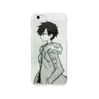 横顔男子 Smartphone cases