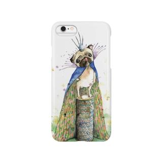 パグの王 Smartphone cases