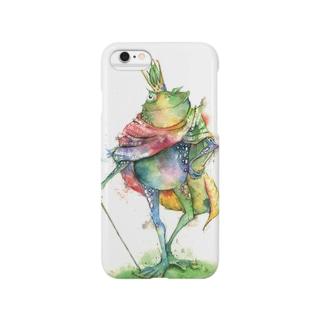 蛙の王 Smartphone cases