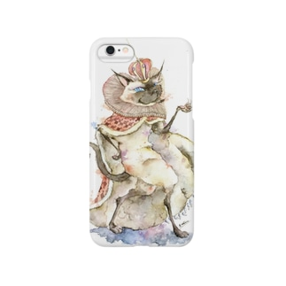 猫の王 スマートフォンケース