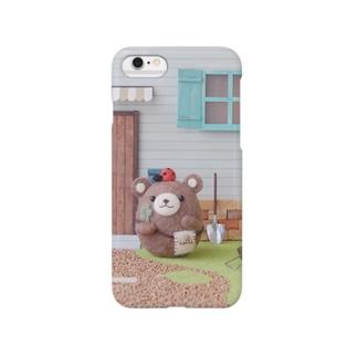 ころくまちゃんiPhoneケース Smartphone cases