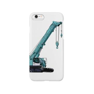 crane truck Smartphone cases