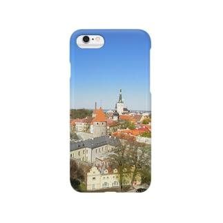 中世の街 タリン Smartphone cases