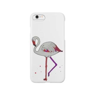 フラミンゴ! Smartphone cases
