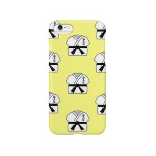 【極真館】道着イラスト Smartphone cases