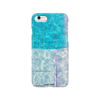 アイマイナナメのプール Smartphone cases