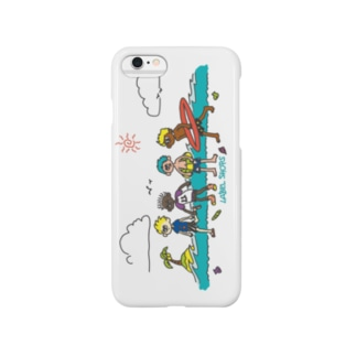 The summer series (white) Smartphone cases