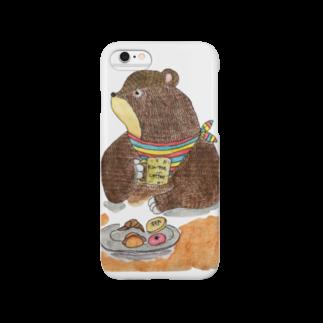 Shinnosuke Konoのくま店長 Smartphone cases