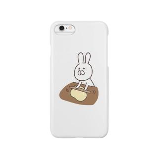パン職人うさ子 Smartphone cases