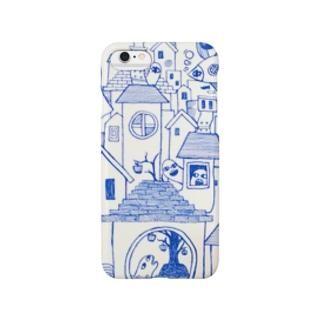 青の世界 スマートフォンケース