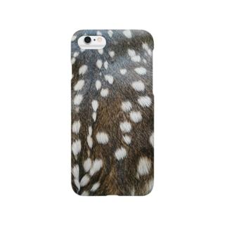 鹿の子斑 Smartphone cases