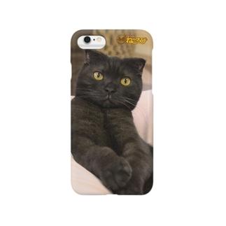 バートくんiphoneケース Smartphone cases