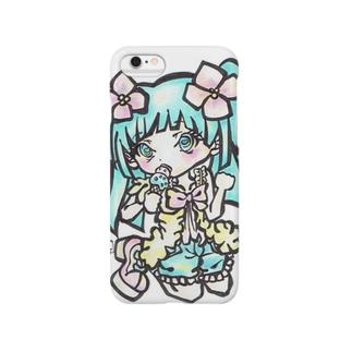 アイスぅおいしい。 Smartphone cases