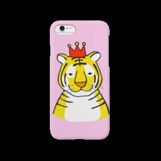 motoko torigoeのトラ2(スマートフォン) Smartphone cases
