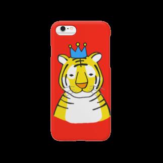 motoko torigoeのトラ3(スマートフォン) Smartphone cases