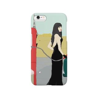 まみシリーズ日曜日 Smartphone cases