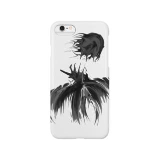 月夜を飛ぶ鳥 Smartphone cases