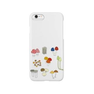 きのこきのこ Smartphone cases