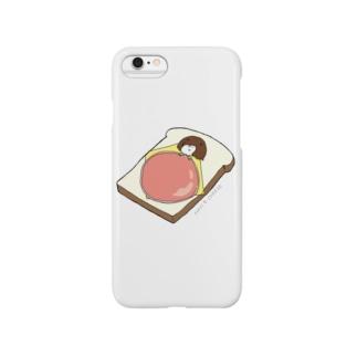 ハムチーズ布団 Smartphone cases