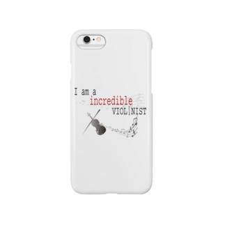 インクレディブル ヴァイオリニスト Smartphone cases