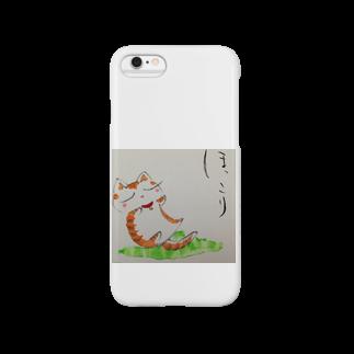Torahamu39のほっこり猫スマートフォンケース
