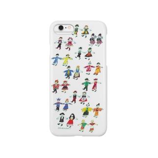 世界の民族衣装のiPhoneケース(iPhone6) Smartphone cases