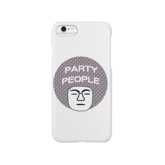 パーティーピーポー Smartphone cases