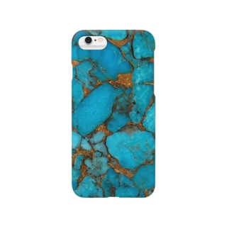 turquoise gold Smartphone cases
