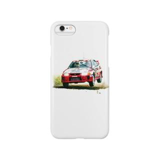 1998年三菱ランサーエボリューションⅤ GroupA Rally Finland Smartphone cases