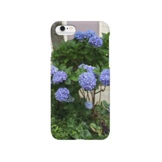 yurzukiの紫陽花 Smartphone cases