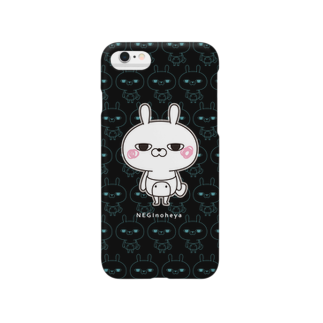 NEGI@トトくん・ひとえうさぎのひとえうさぎ Smartphone cases