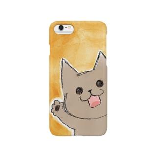 スケッチ おこげくん Smartphone cases