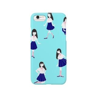 ねむるちゃん Smartphone cases