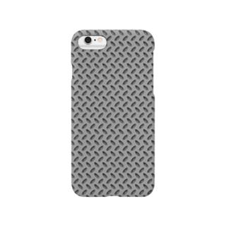 縞鋼板メタル Smartphone cases