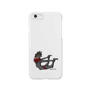 ニンジャスタ-反り体- Smartphone cases