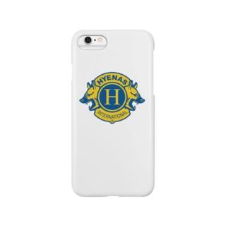 ハイエナズクラブのハイエナズクラブロゴ(2016) Smartphone cases