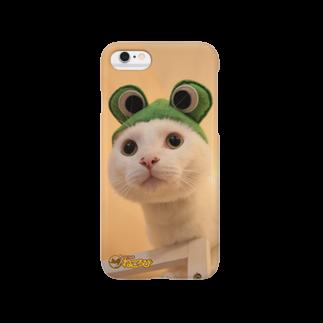 Cat Cafe ねころびのプリンiphoneケース Smartphone cases