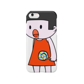 みつぼちゃん(こども) Smartphone cases