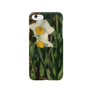水仙 narcissus DATA_P_156 春 spring Smartphone cases