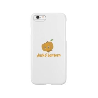カボチャ頭 Jack o' Lantern Smartphone cases