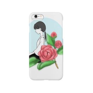 牡丹と武道少女 Smartphone cases