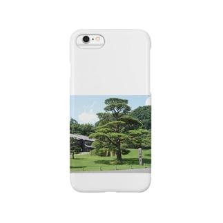 仙巌園の松 Smartphone cases