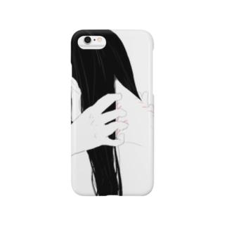 うなじの傷2 Smartphone cases