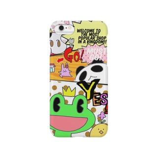 かえるの王子様☆アメコミ風 Smartphone cases